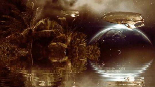 科幻短片:棕色星球 概念篇 创意科幻电影 色彩创作 效果创作 科幻设计 效果设计。