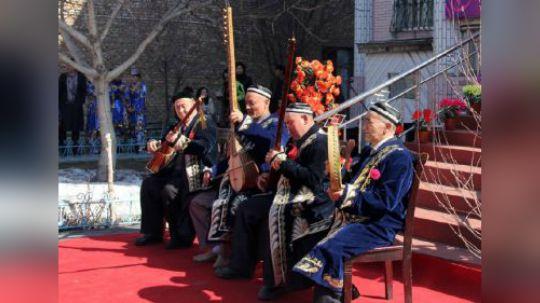 #民族风正当红# 《可爱的中国》之乌孜别克族