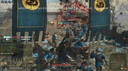 战意重燃删档测试玄机城攻方游戏演示视频