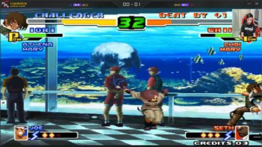 拳皇2000 小孩VS诱日 2P这个名字还不错