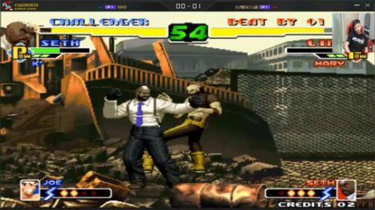 拳皇2000楼十杯线上赛 与保利达决定去留的一战