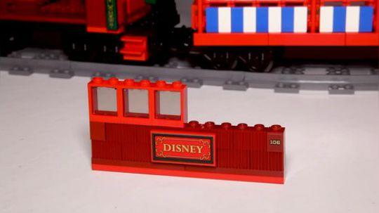 乐高迪士尼火车和火车站 71044 速拼