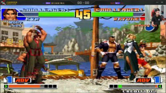 这游戏好玩多了!拳皇98这阵容是对手主力?