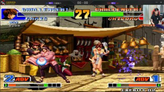 拳皇98 神乐用到让导师手舞足蹈 但结局却让人意想不到