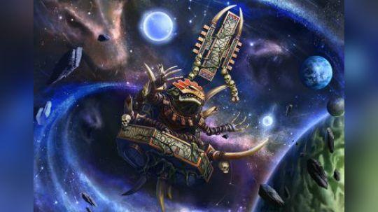 【双尾】中古战锤历史——蜥蜴人(上):蜥蜴人的诞生和混沌入侵