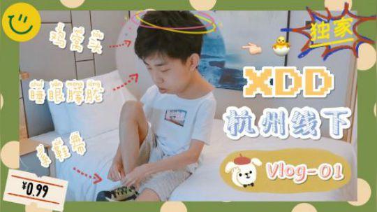 【XDD-Vlog1】XDD杭州中日韩线下Vlog新鲜出炉