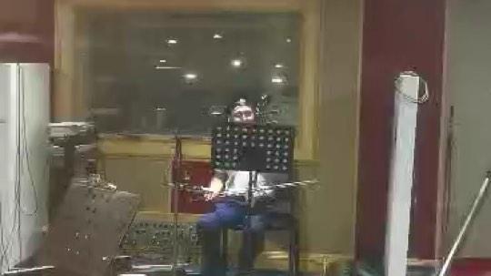 广东省演出有限公司录音棚,今日录南音。
