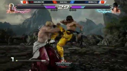 Double vs. Chikurin 格斗联盟03