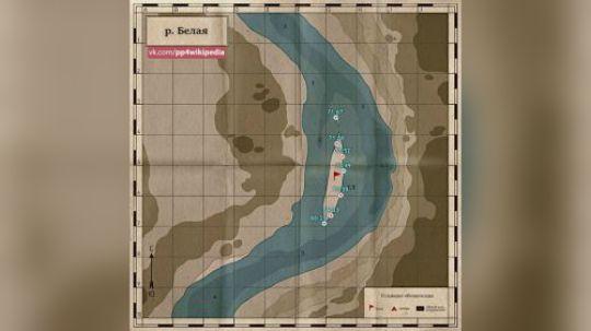 俄羅斯釣魚4:白河圖講解攻略