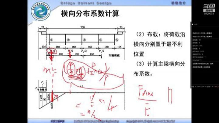 荷載橫向分布系數計算(二)