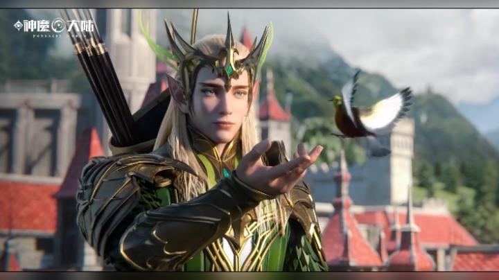 新神魔大陸職業選擇攻略,化身魔劍士,腳踩翔龍身披白羽,劍溢流光
