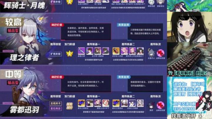 【崩壞3】4.2版本角色培養指南!