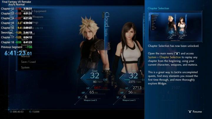 PS4 最终幻想7 重制版  6小时速通