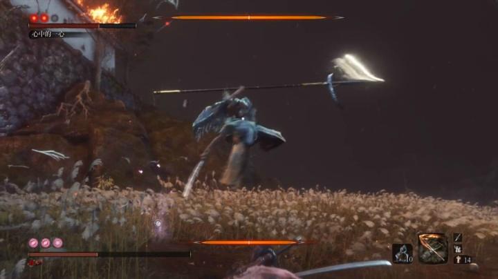 PS4只狼 心中的一心基礎打法(隨手錄制)