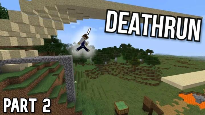 Domino In Minecraft - Deathrun