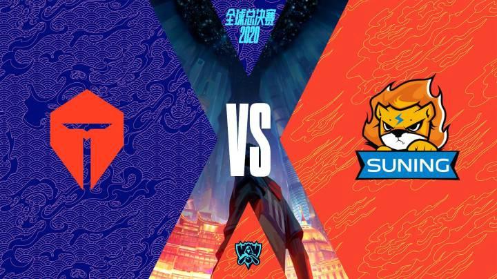 全球總決賽半決賽TES-SN:Angel阿卡麗正名之戰刺殺秀 SN五人超常發揮晉級總決賽