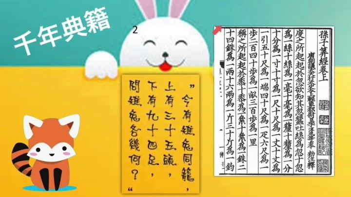 Panda13 方程應用題二 題3及4(雞兔同籠)