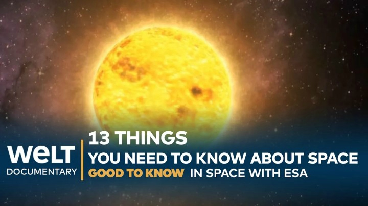 SPACE KNOWLEDGE: 13 things you