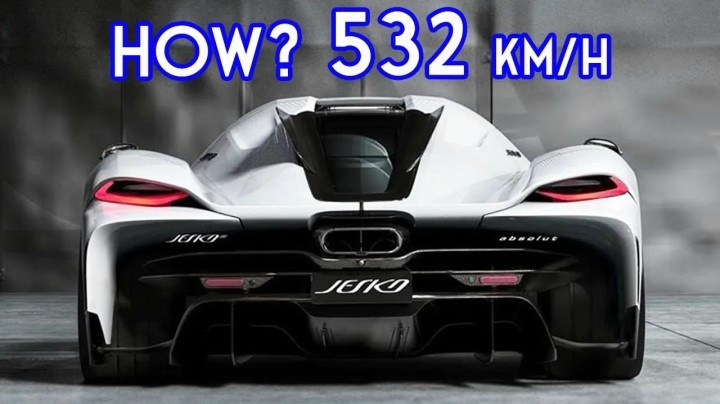FASTEST CAR IN THE WORLD - Thi
