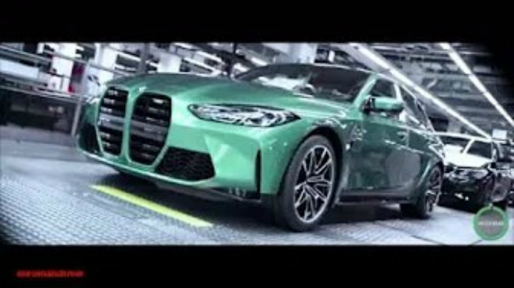NEW 2021 BMW M3 Manufacturing